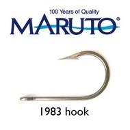 Maruto Hooks Maruto 6/0 stainless steel game hook wide gape