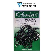 Gamakatsu hooks Gamakatsu Octopus hook black  value pack 25pk
