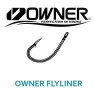 Owner hooks Owner flyline hooks 8pk size 4