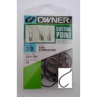 Owner hooks Owner SSW 5311 Cutting point hook 6/0 22pk pro pack