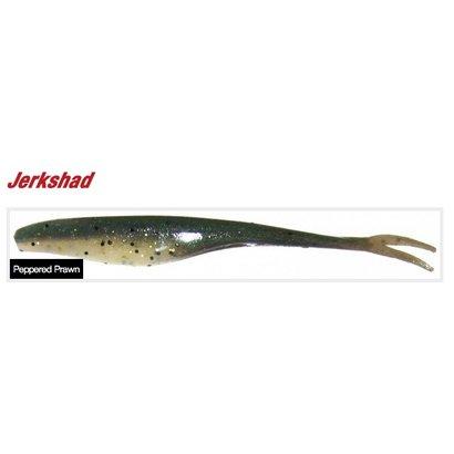 Berkley fishing Berkley Gulp softbait 5 inch Jerkshad Peppered Prawn