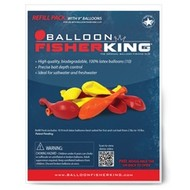 "Balloon Fisher King 9"" latex live bait balloons 10pk"
