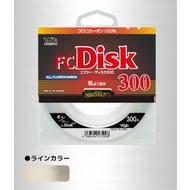 YGK Line YGK FC disk 300m 12lb 100% fluorocarbon