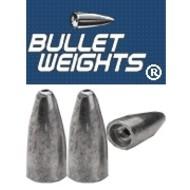 Bullet Weight BWP116B Worm Weight Black 1/16oz Ziplock 5Bg