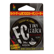 Gosen fishing line Gosen Tiny leader fluoro 30m 1.0( 4lb)