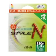 Gosen fishing line Gosen Taper line StyleN 220m Five-12