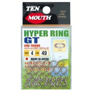 NT Swivel Ten Mouth Ten Mouth Hyper GT split rings TM6 97lb size 5