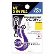 NT Swivel Ten Mouth NT Brass barrel swivel 3way 160B 69kg size 1