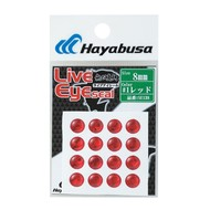 Hayabusa fishing Hayabusa stick on lure eye red 4mm