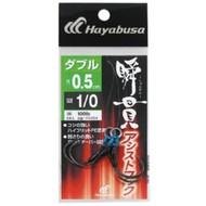 Hayabusa fishing Hayabusa Shunkan assist hook double 0.5cm FS454-2/0