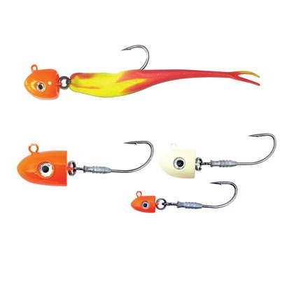 Berkley fishing Berkley Elevator Head 1oz orange 2pk