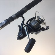 Shakespeare fishing Shakespeare ugly stik 12' rod & Shimano baitrunner 1200OC reel