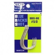 Vanfook Hooks Vanfook  BBS-88S Blue back shot hook #4/0