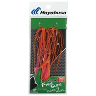 Hayabusa fishing Hayabusa Free Slide Rubber & Hook Set 2 red shrimp