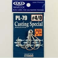 Vanfook Hooks Vanfook  PL-79 Casting In-line hook welded 5/0