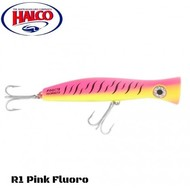 Halco lures Halco Haymaker Roosta Popper 135 R1 pink yellow