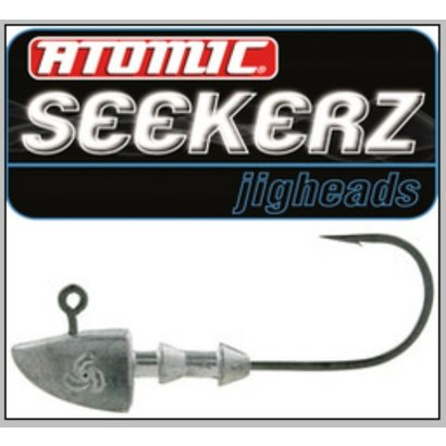 Atomic Seekerz Jig heads Heavy #3/0 1/8oz 3.5g