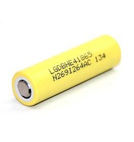 LG LG HE 4 18650 Battery Yellow