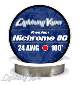 Lightning Vapes Lightning Vapes Ni 80 Wire 10 Ft