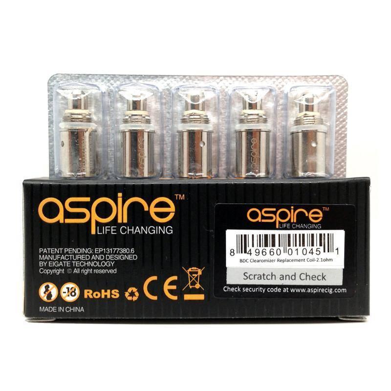 Aspire Aspire Spryte BVC Coils 5 Pack 1.8 Ohm