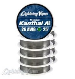 Lightning Vapes Lightning Vapes A1 Kanthal 26G  Wire 25 Ft