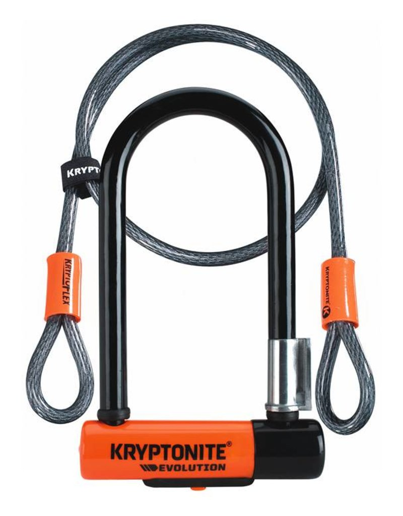 Kryptonite EVOLUTION MINI 7 w/4' FLEX CABLE