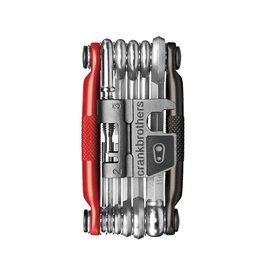 CRANK BROTHERS Multi-17, Noir/Rouge