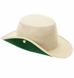 TILLEY NAT/GREEN 7 1/2 HAT