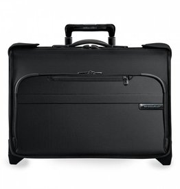 BRIGGS & RILEY BLACK CARRYON WHEELED GARMENT BAG