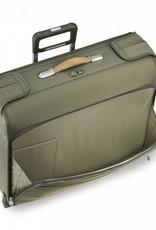 BRIGGS & RILEY U176-7 OLIVE DELUXE WHEELED GARMENT BAG