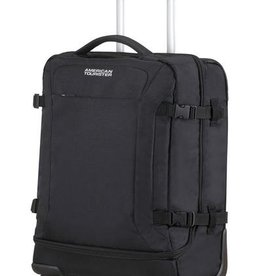 SAMSONITE SPINNER DUFFLE CARRYON BLACK ROAD QUEST