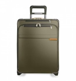 BRIGGS & RILEY OLIVE INT'L CARRYON EXPANDABLE WIDE BODY UPRIGHT