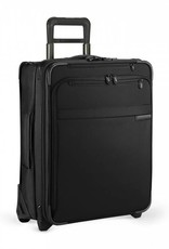 BRIGGS & RILEY U121CXW-4 BLACK INT'L CARRYON EXPANDABLE WIDE BODY UPRIGHT