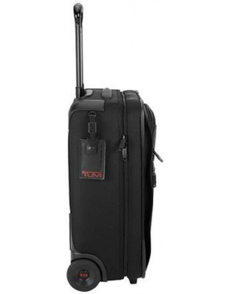 TUMI 22908D2 BLACK 20 TUMI WIDE CARRYON
