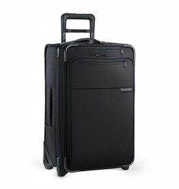 BRIGGS & RILEY BLACK DOMESTIC U.S. CARRYON EXPANDABLE UPRIGHT