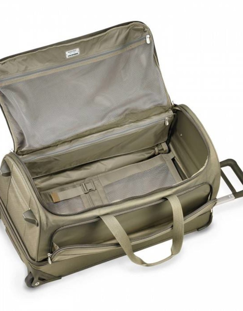BRIGGS & RILEY UWD129-7 OLIVE LARGE UPRIGHT DUFFLE
