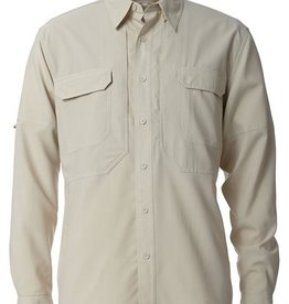 ROYAL ROBBINS Expedition Stretch Long Sleeve  SMALL SOAPSTONE