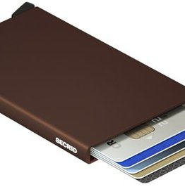 SECRID CARD PROTECTOR BROWNMETAL