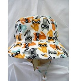 PUFFIN GEAR MEDIUM RACOON HAT WHITE