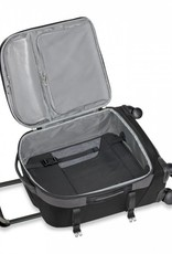 BRIGGS & RILEY BU222SPX -4 BLACK EXPLORE DOMESTIC U.S. CARRYON SPINNER