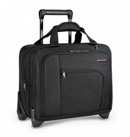 BRIGGS & RILEY BLACK PROPEL EXPANDABLE ROLLING CASE