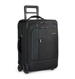 BRIGGS & RILEY BLACK PILOT CARRYON EXPANDABLE UPRIGHT