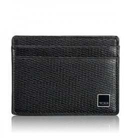 TUMI TUMI CARD WALLET BLACK