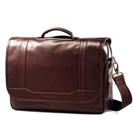 SAMSONITE FLAPOVER COLUMBIAN BROWN