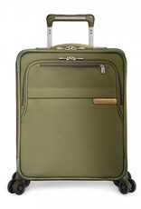 BRIGGS & RILEY U121CXSPW-7 OLIVE INTERNATIONAL CARRYON EXPANDABLE WIDE BODY UPRIGHT