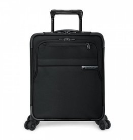 BRIGGS & RILEY BLACK INTERNATIONAL CARRYON EXPANDABLE WIDE BODY UPRIGHT