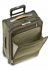BRIGGS & RILEY U125CX-7 OLIVE MEDIUM EXPANDABLE UPRIGHT