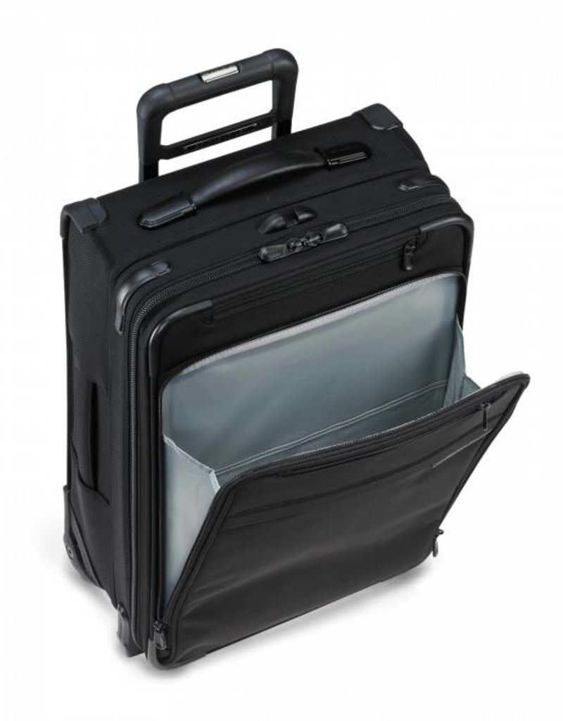 BRIGGS & RILEY U125CX-4 BLACK MEDIUM EXPANDABLE UPRIGHT