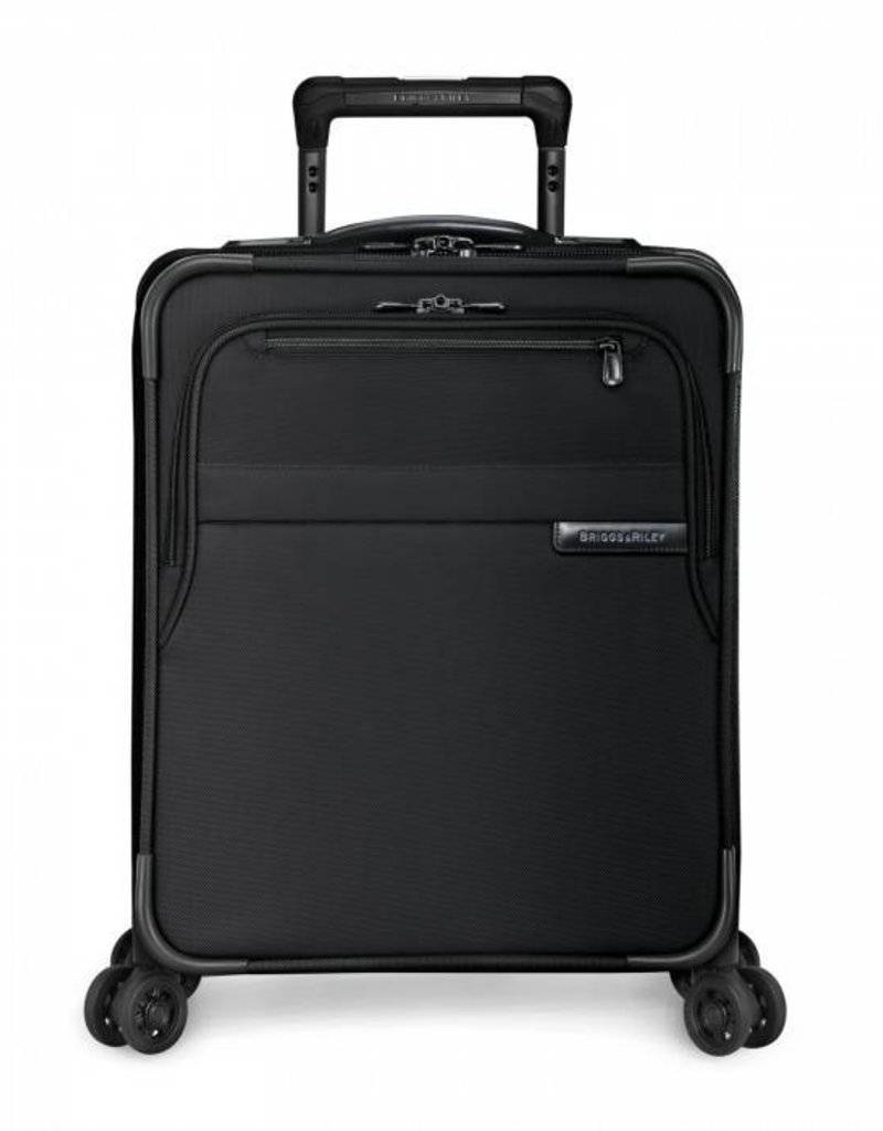 BRIGGS & RILEY U119CXSP-4 BLACK COMMUTER EXPANDABLE SPINNER