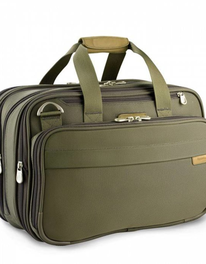 BRIGGS & RILEY 231X-7 OLIVE EXP CABIN BAG